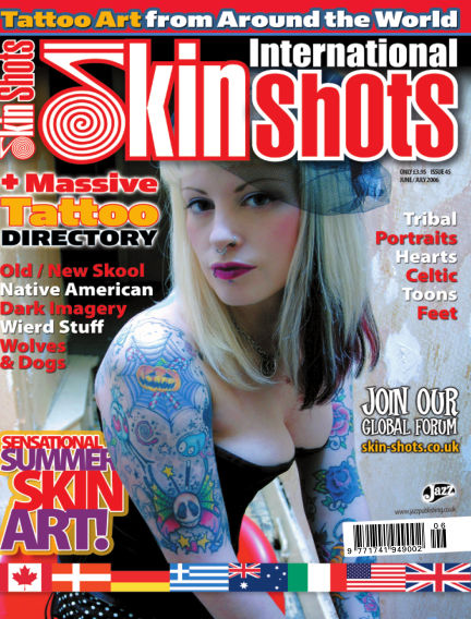 Skin Shots Tattoo Collection April 08, 2019 00:00