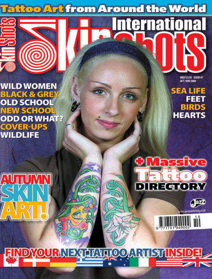 Skin Shots Tattoo Collection April 15, 2019 00:00