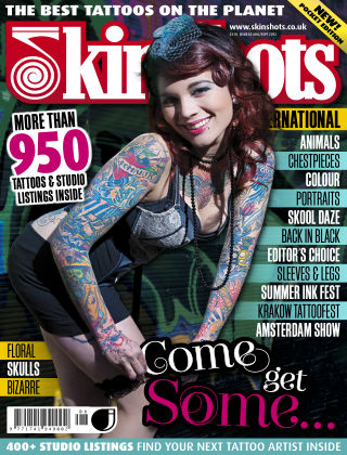 Skin Shots Tattoo Collection Issue 82