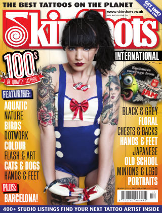 Skin Shots Tattoo Collection Issue 90