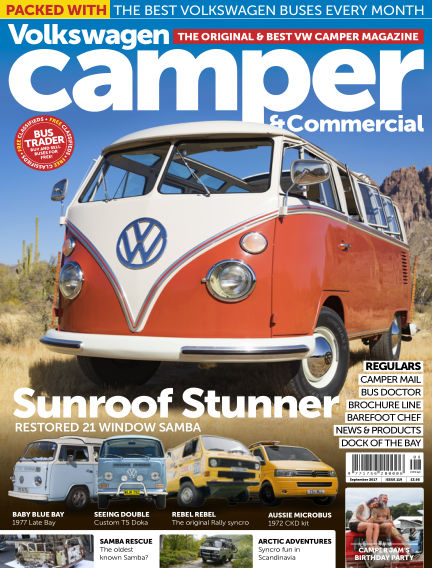 Volkswagen Camper and Commercial August 30, 2017 00:00