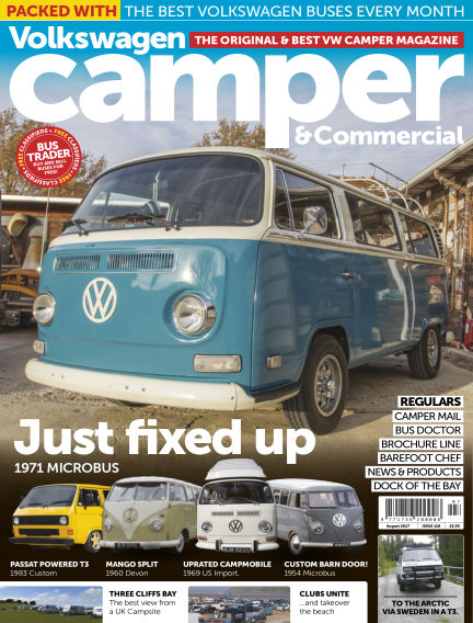 Volkswagen Camper and Commercial July 26, 2017 00:00