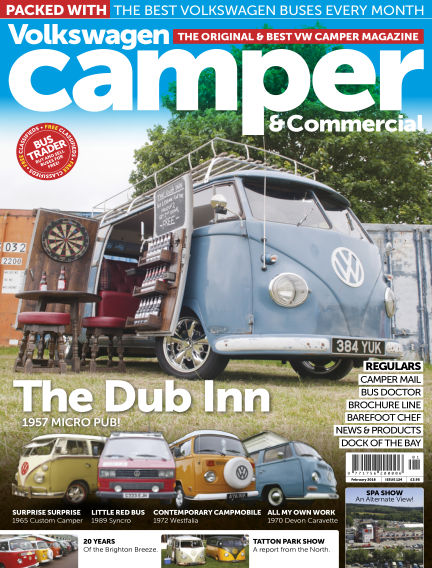 Volkswagen Camper and Commercial January 31, 2018 00:00