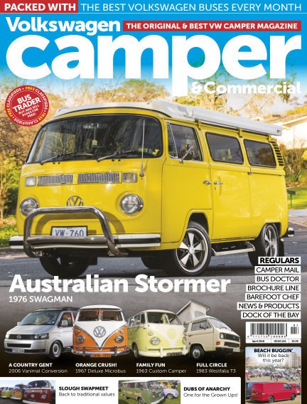 Volkswagen Camper and Commercial March 28, 2018 00:00