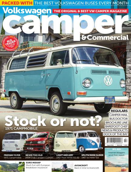 Volkswagen Camper and Commercial July 25, 2018 00:00