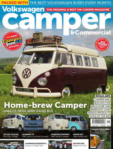 Volkswagen Camper and Commercial October 01, 2018 00:00