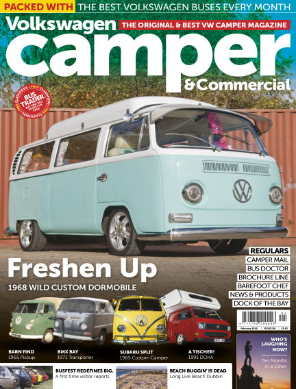 Volkswagen Camper and Commercial January 30, 2019 00:00