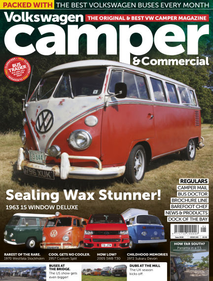 Volkswagen Camper and Commercial May 29, 2018 00:00