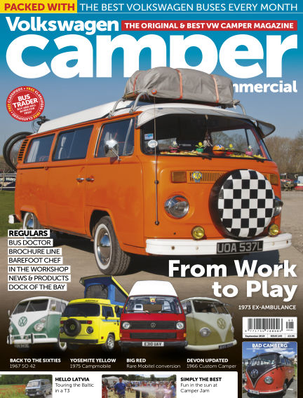 Volkswagen Camper and Commercial August 28, 2019 00:00