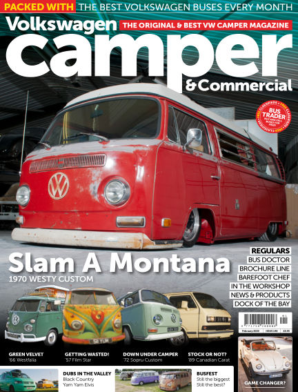 Volkswagen Camper and Commercial January 29, 2020 00:00