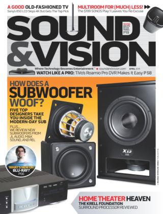 Sound & Vision April 2014