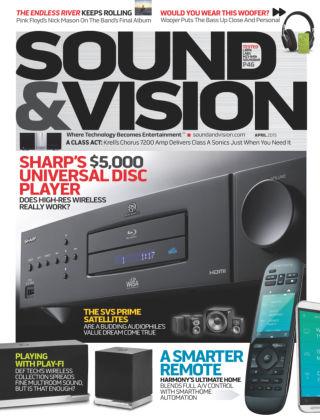 Sound & Vision April 2015