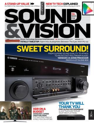Sound & Vision Jan 2016