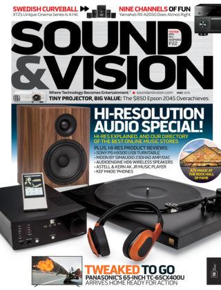 Sound & Vision May 2016