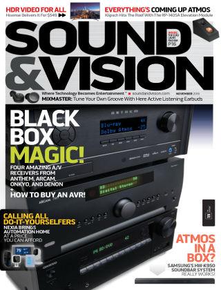 Sound & Vision Nov 2016