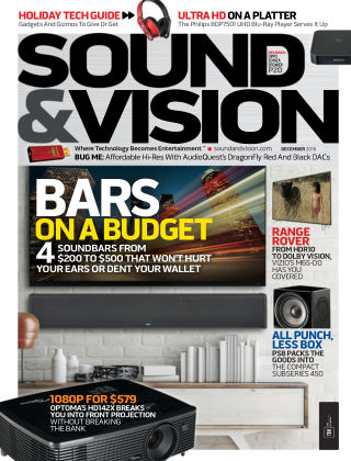 Sound & Vision Dec 2016