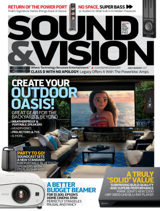 Sound & Vision Jul-Aug 2017