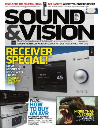 Sound & Vision Nov 2017