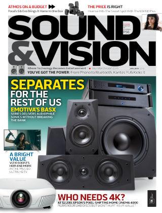 Sound & Vision Jan 2018