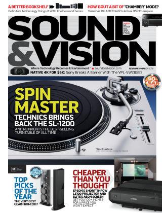 Sound & Vision Feb-Mar 2018