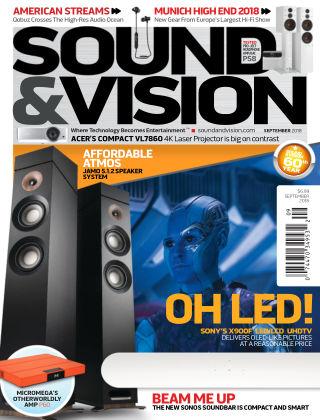Sound & Vision Sep 2018