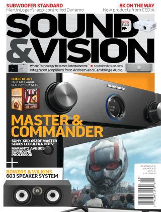 Sound & Vision Dec-Jan 2019