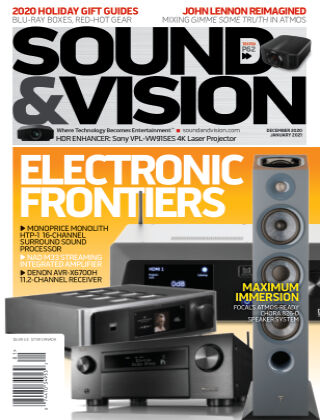 Sound & Vision January 21
