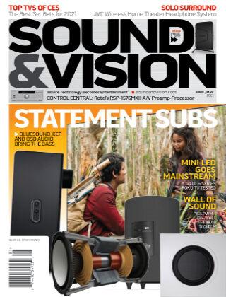 Sound & Vision APRILMAY_2021