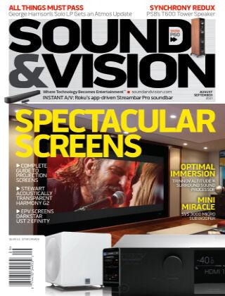 Sound & Vision Aug/Sept 2021