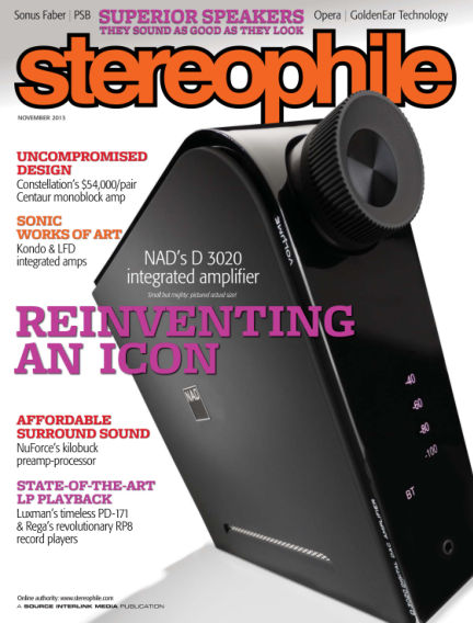 Stereophile October 22, 2013 00:00