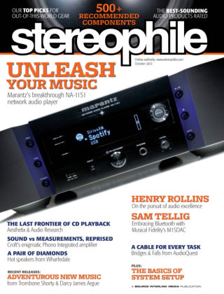 Stereophile October 2013