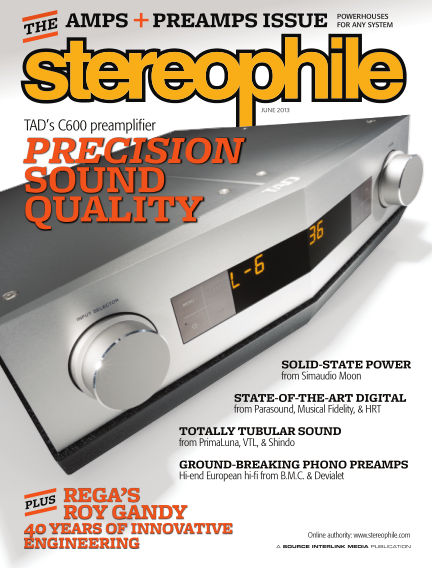 Stereophile May 21, 2013 00:00