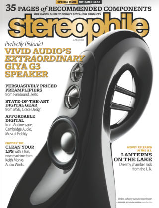 Stereophile April 2014