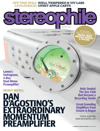Stereophile August 2014