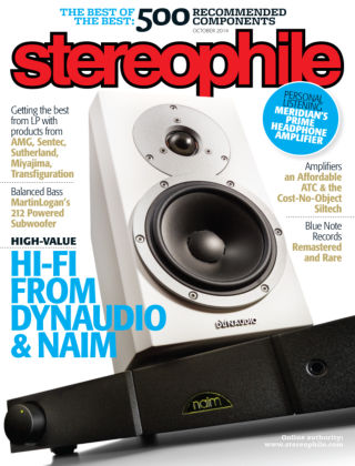 Stereophile October 2014