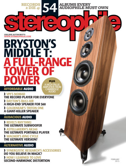Stereophile January 09, 2015 00:00