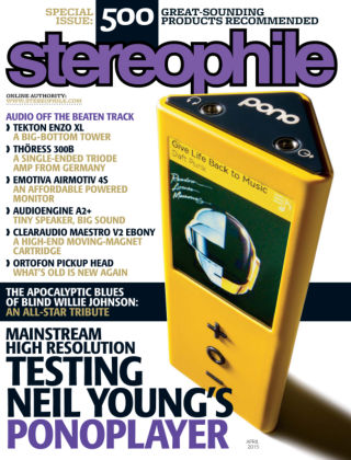 Stereophile April 2015