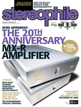 Stereophile August 2015