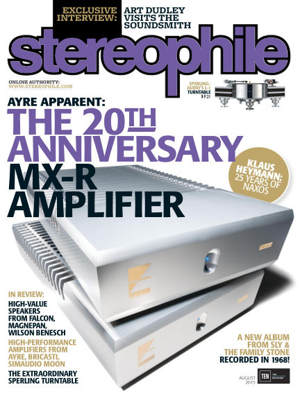 Stereophile July 10, 2015 00:00