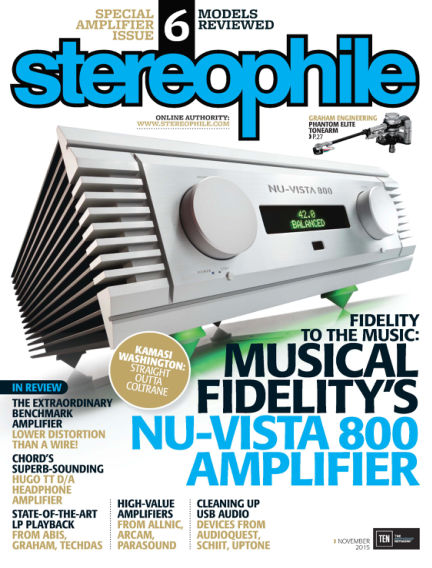 Stereophile October 16, 2015 00:00