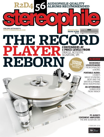 Stereophile January 08, 2016 00:00