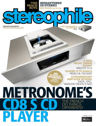 Stereophile Mar 2016