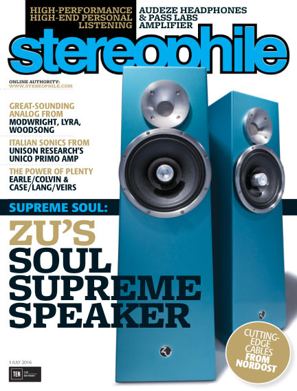 Stereophile June 10, 2016 00:00