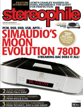 Stereophile Aug 2016