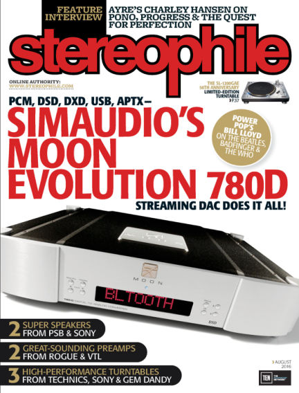 Stereophile July 08, 2016 00:00