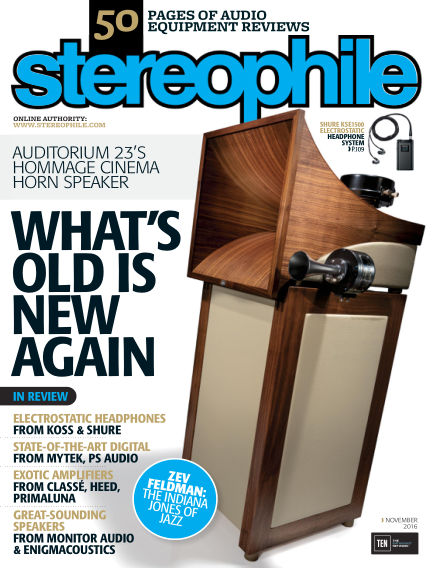 Stereophile October 14, 2016 00:00