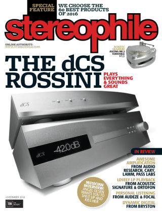 Stereophile Dec 2016