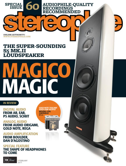 Stereophile January 06, 2017 00:00