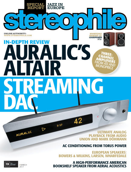 Stereophile February 10, 2017 00:00