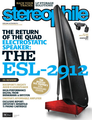 Stereophile Aug 2017